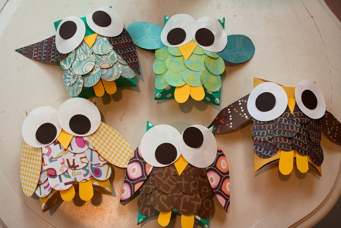 owl craft brownie meeting ideas