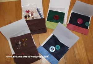 Sewing books Brownie version 2