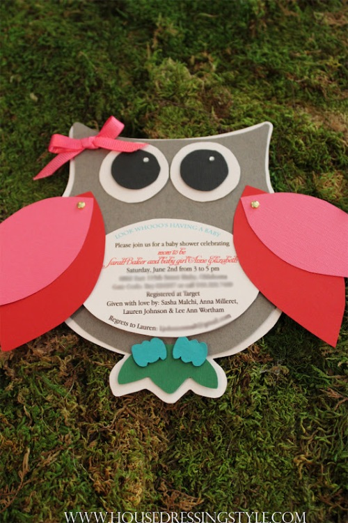 From: http://www.housedressingstyle.com/2012/08/owl-themed-baby-shower.html